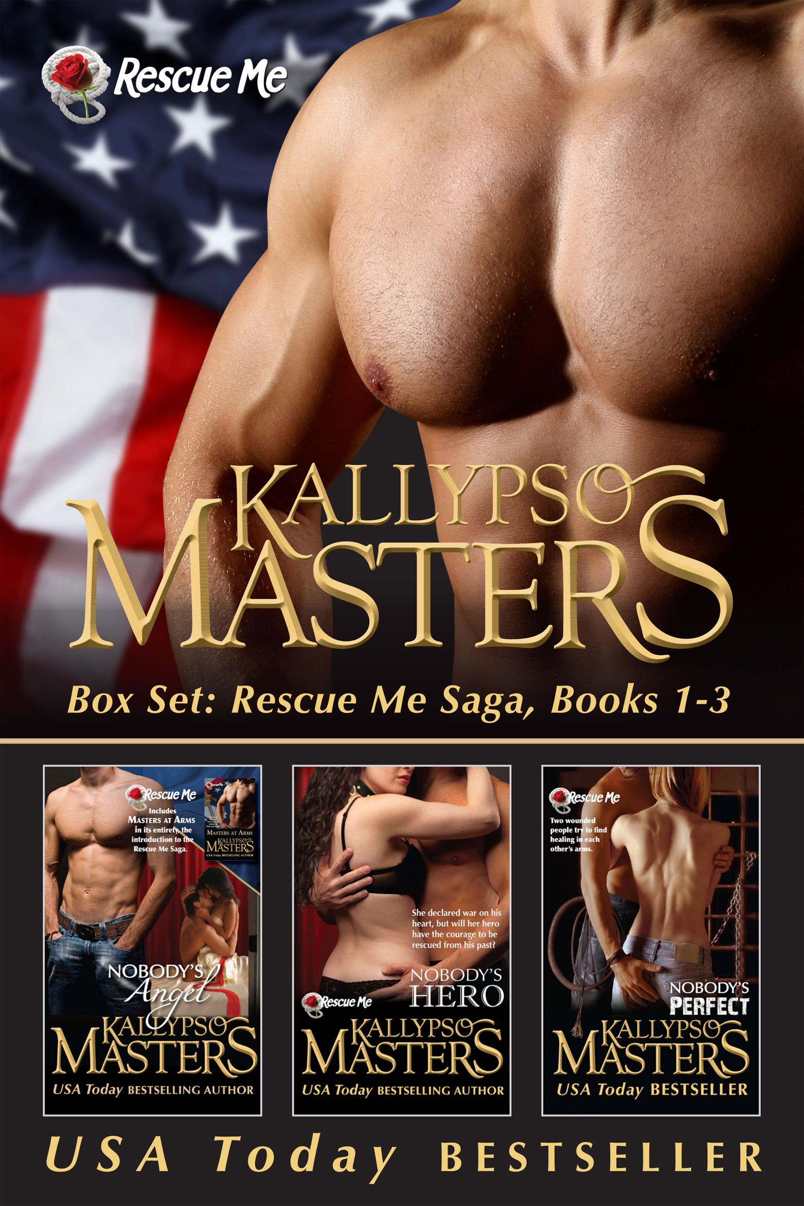 Box Set: Rescue Me Saga, Books 1-3